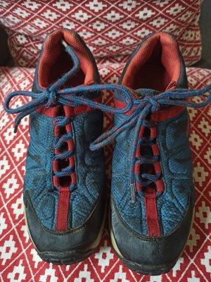 Kangaroos Sznurowane buty czerwony-niebieski