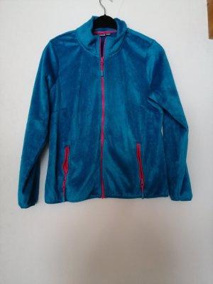 Gilet polaire turquoise
