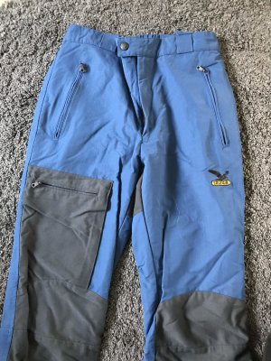 Salewa Pantalón térmico negro-azul