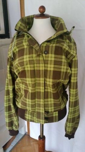 Blusón verde pradera-marrón