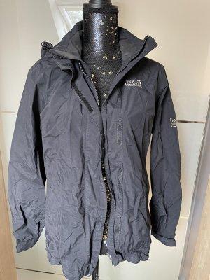 Jack Wolfskin Outdoor Jacket black-anthracite