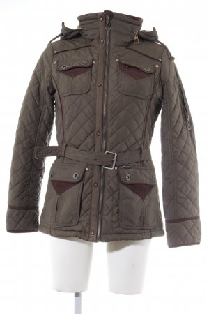 Outdoorjacke Steppmuster 50ies-Stil