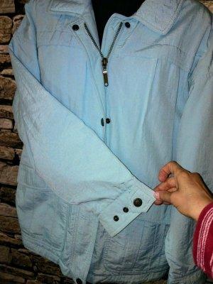 Schöffel Outdoor Jacket light blue-azure mixture fibre