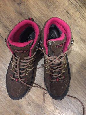 CMP Snow Boots brown-magenta