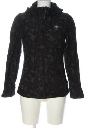 outerwear Chaqueta de entretiempo negro-gris claro look casual
