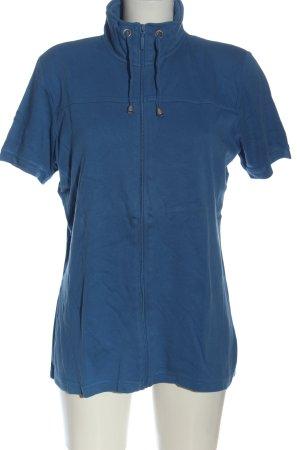 OUTFIT Classic Cardigan à manches courtes bleu torsades style décontracté
