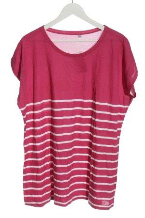 OUTFIT Classic T-shirt rayé rose motif rayé style décontracté