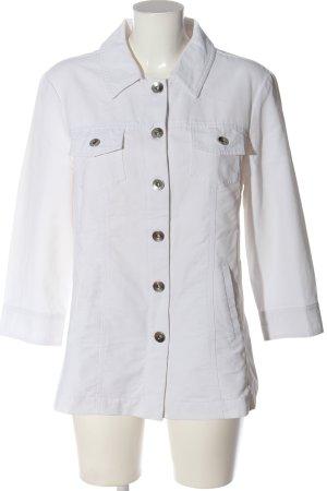 OUTFIT Classic Übergangsjacke weiß Casual-Look
