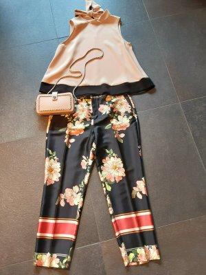 Zara Basic 7/8 Length Trousers multicolored