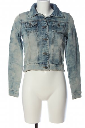 Outfitters nation Giacca denim blu stile casual