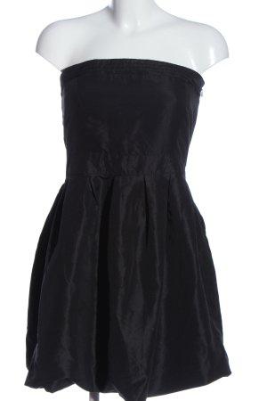 Outfitters nation Robe épaules nues noir moucheté élégant