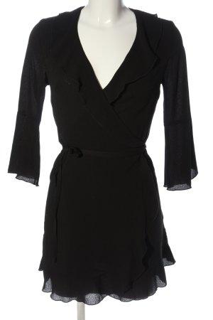 OUTRAGEOUS FORTUNE Robe portefeuille noir style décontracté