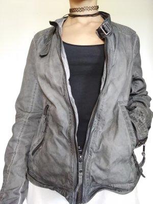 proud Between-Seasons Jacket anthracite cotton