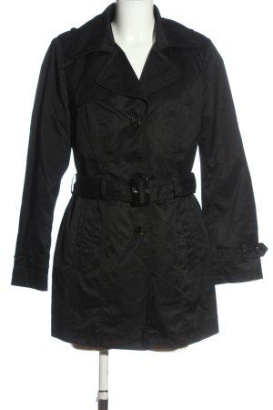 Outwear Duffle-coat noir style décontracté