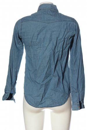 Outwear Spijkershirt blauw casual uitstraling