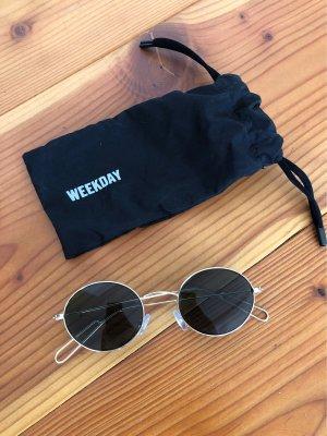 Ovale coole Sonnenbrille von Weekday