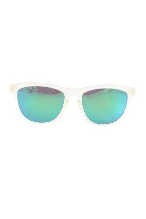Ovale zonnebril veelkleurig casual uitstraling