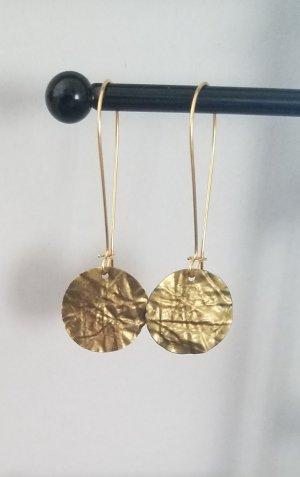 Pendant d'oreille bronze-doré