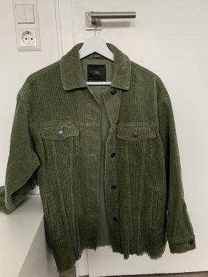 Over-Shirt aus Kord ZARA