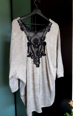 Over-Size Spitzen Shirt