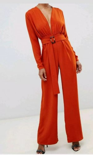Asos Jumpsuit dark orange