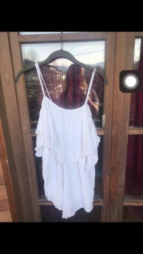 Woven Twin Set white