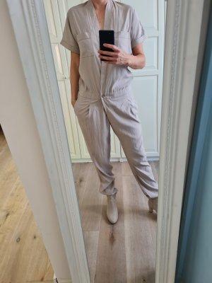 Summum Langer Jumpsuit crema-beige chiaro