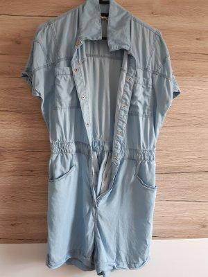 Tally Weijl Kurzer Jumpsuit silver-colored-azure