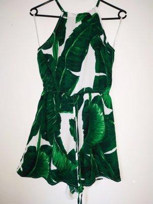 AX Paris Cut Out Dress green-white