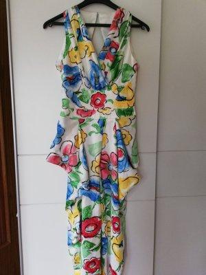 100% Fashion Pantalón tobillero multicolor