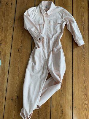 Overall aus Baumwoll Twill Rosa Workwear Anzug CLOSED in S