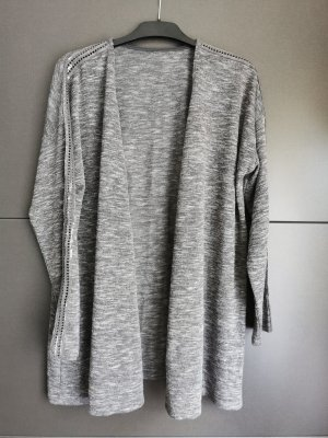 Felpa kimono grigio