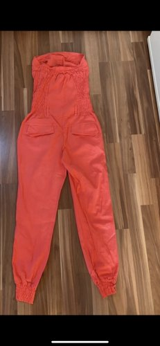 Amazon fashion Trouser Suit salmon-brick red