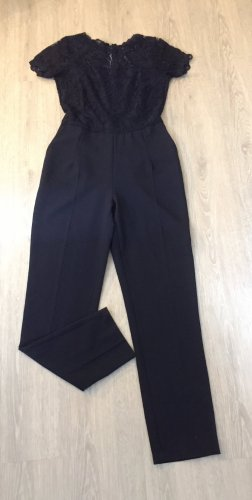 Comptoir des Parisiennes Traje de pantalón azul oscuro