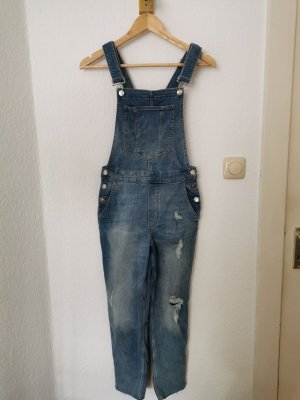 H&M Divided Bib Denim blue