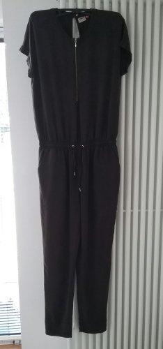 Only Trouser Suit black mixture fibre