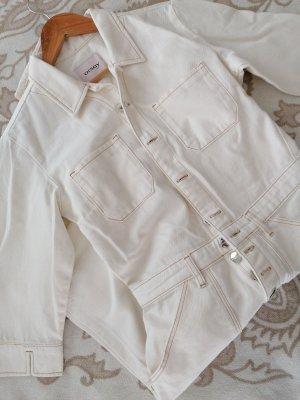 Orsay Langer Jumpsuit white