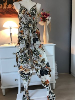 Tailleur-pantalon multicolore