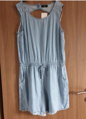 C&A Kurzer Jumpsuit light blue