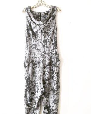 overall • jumpsuit • onepiece • vintage • grau • schwarz • bohostyle