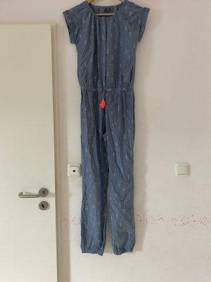 Kik Jumpsuit white-blue