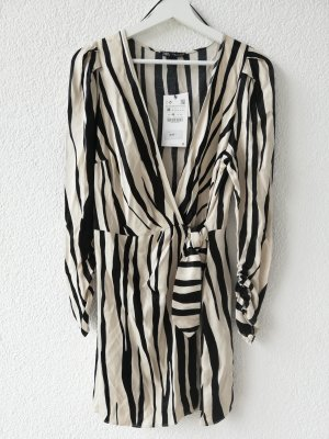 Overall-Kleid mit Print und Schleife Zara 8342/104