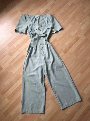Asos Jumpsuit pale blue-sage green