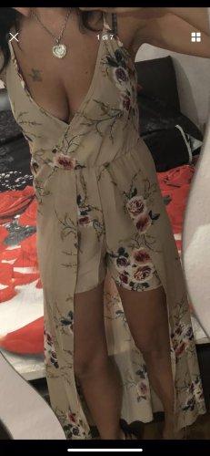 vestido de globo crema-marrón claro