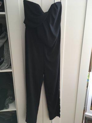 Asos Robe bustier noir polyester