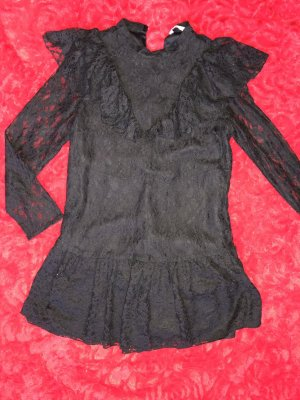 Zara Babydoll Dress black