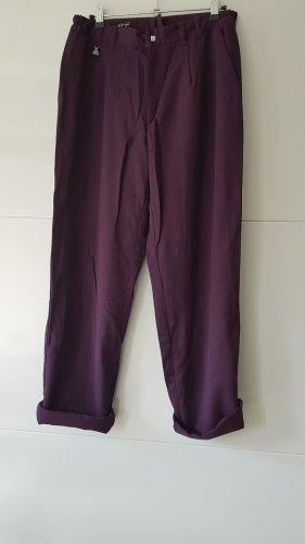 Spodnie karoty czerwona jeżyna