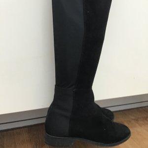 Overknee Stiefel, Gr. 38, schwarz