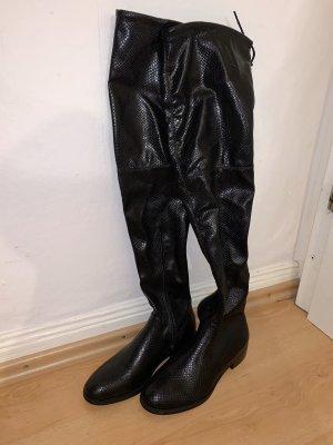 RAID Kniehoge laarzen zwart