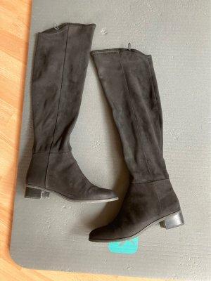 H&M Botas sobre la rodilla negro